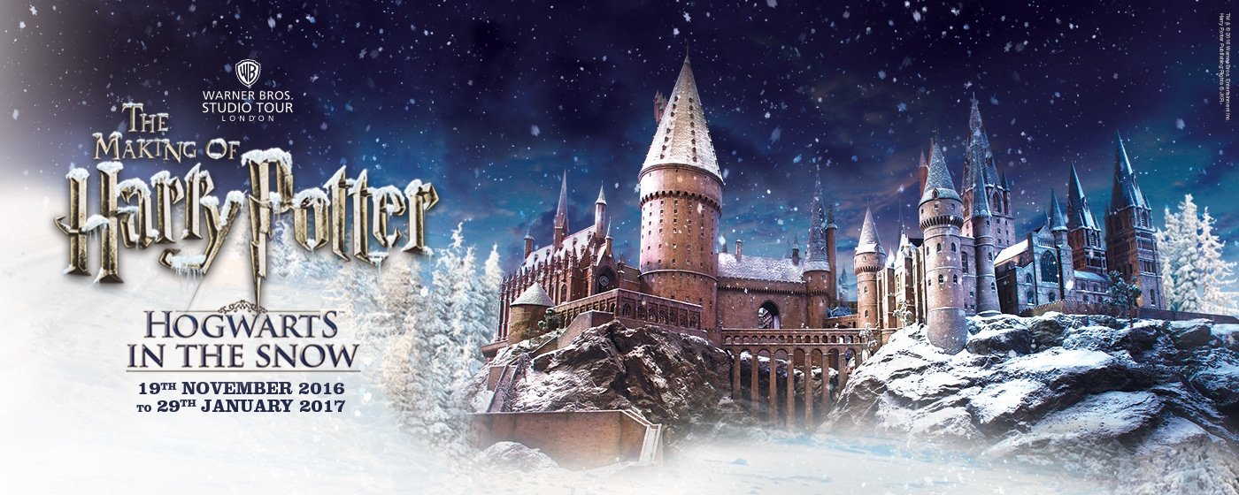 Hogwarts In The Snow 2016 At Warner Bros Studio Tour London