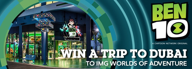 Cartoon Network UK IMG Worlds Of Adventure Ben 10 Competition