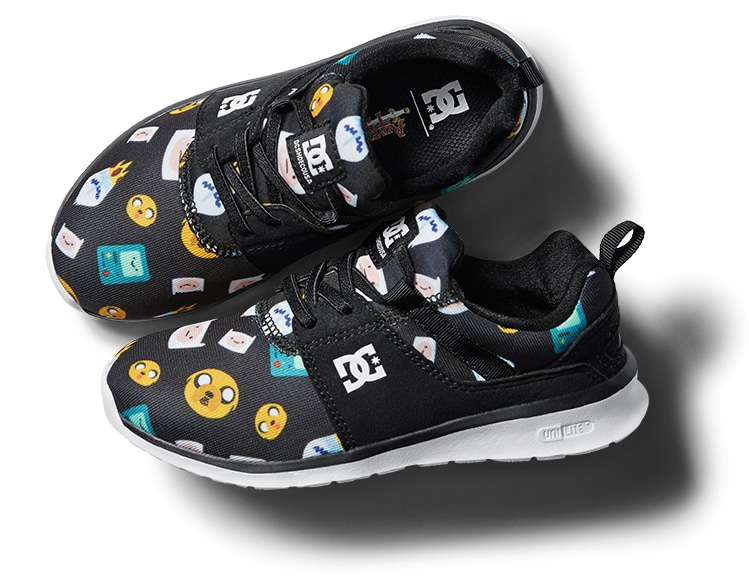 Cartoon Network And DC Shoes Collaborate For Adventure Time Collection
