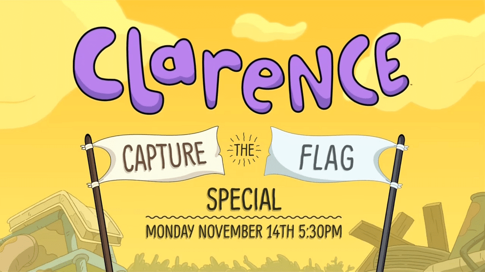 Cartoon Network USA Clarence Capture The Flag Special Airs 14th November