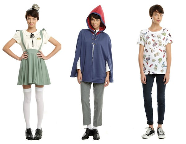 Over The Garden Wall Hot Topic Exclusive Clothing Collection