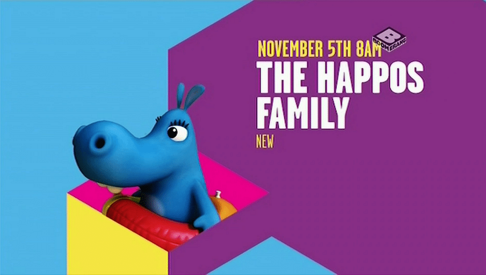 Boomerang UK The Happos Family Premieres Tomorrow 5th November