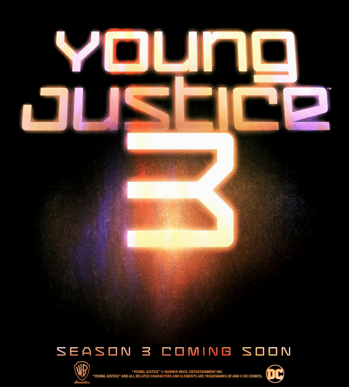 Young Justice Season Three Announced