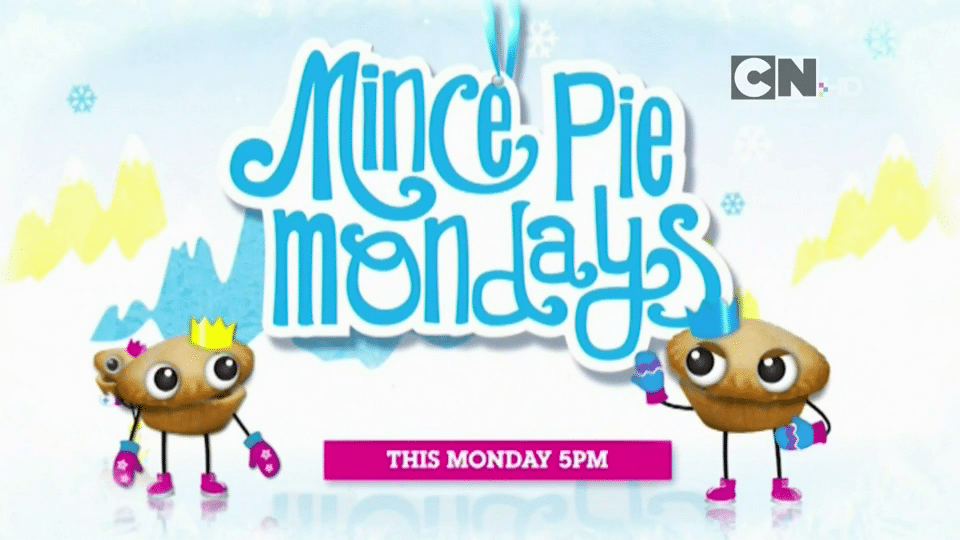 Cartoon Network UK Mince Pie Mondays Starts 5th December