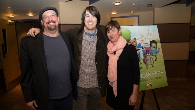 Regular Show Finale Screening In Burbank
