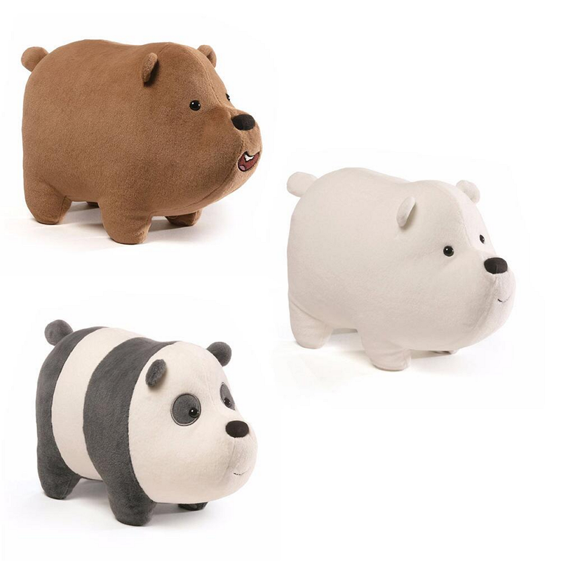 We Bare Bears Stackable Plush Toys Preorder Now At The Cartoon Network Shop