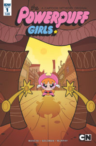 The Powerpuff Girls Comic