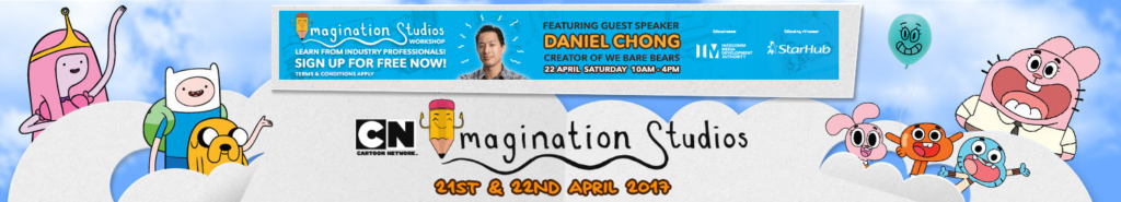 We Bare Bears Creator Daniel Chong As Guest Speaker At Cartoon Network Imagination Studios Event In Singapore