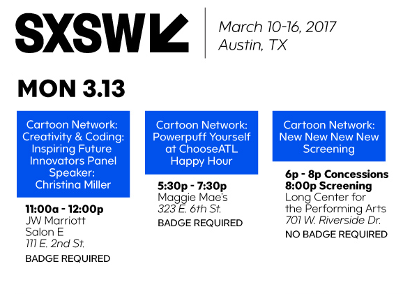 Cartoon Network At SXSW 2017