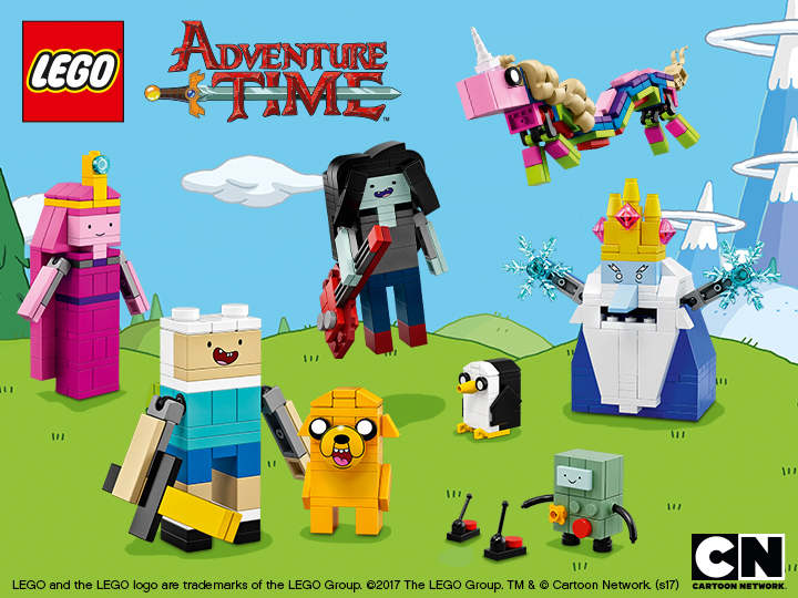 Lego Rebrick Adventure Time Character Competition Winners