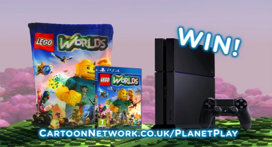 Cartoon Network UK Lego Worlds Competition