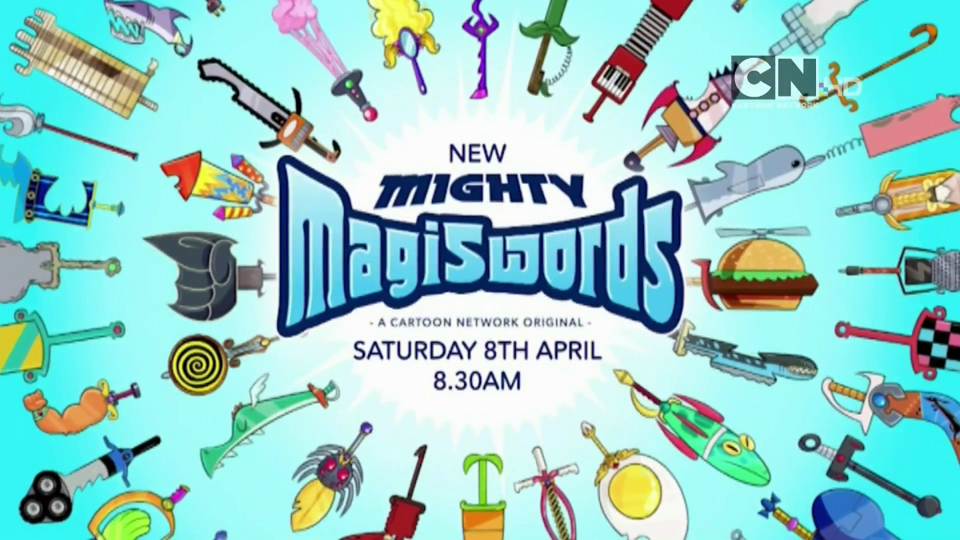 Cartoon Network UK Mighty Magiswords Premieres Tomorrow At 8.30am