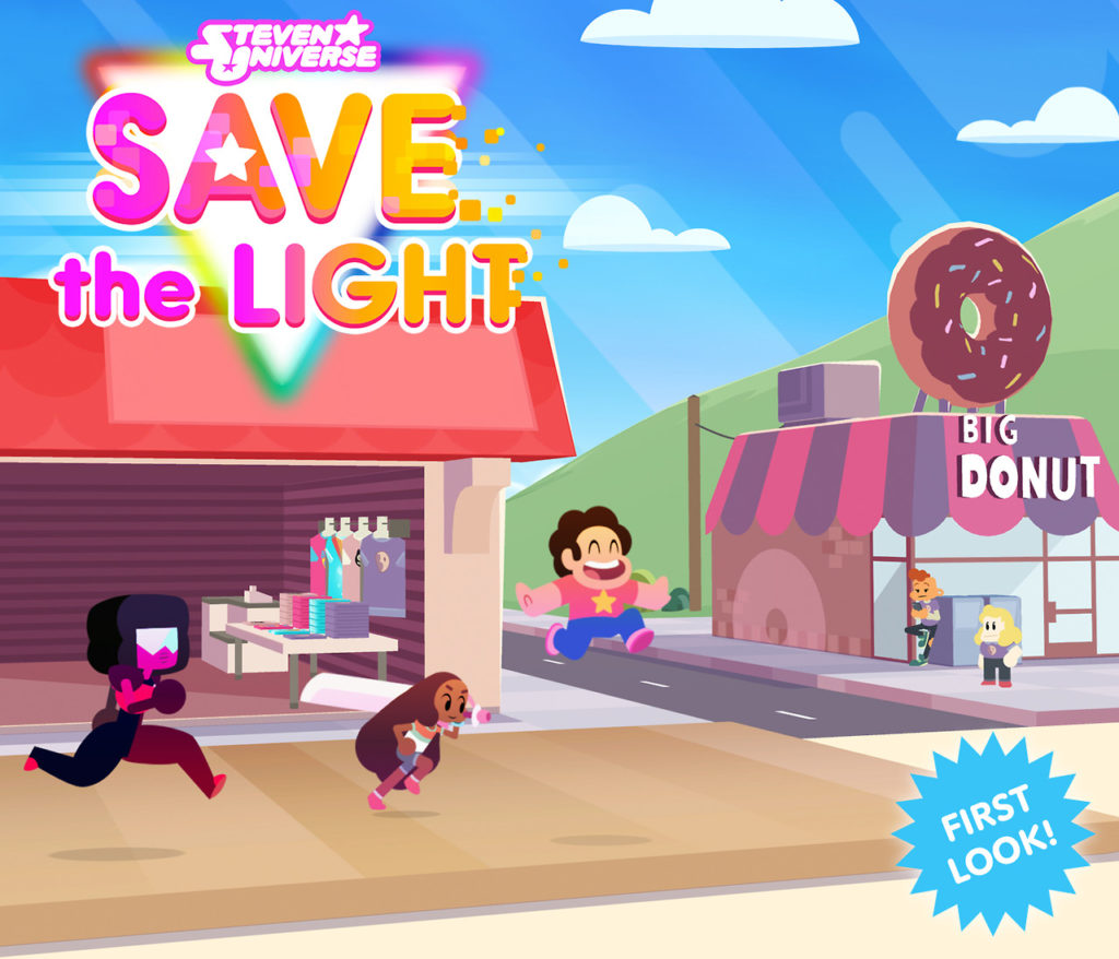 Steven Universe Save The Light Coming To Game Consoles This Summer