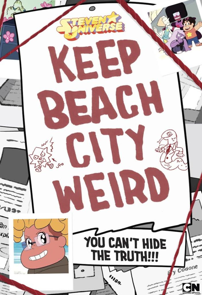 Steven Universe Keep Beach City Weird Book Now Available To Buy In The United States