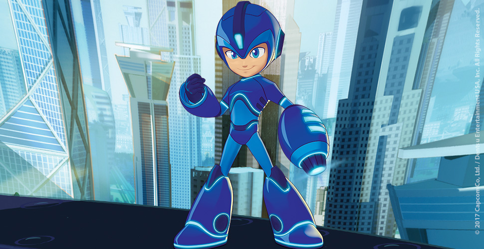 Mega Man Animated Series Coming Soon To Cartoon Network USA