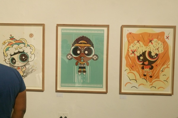 The Powerpuff Girls Art Factory Exhibit Launch Night In South Africa
