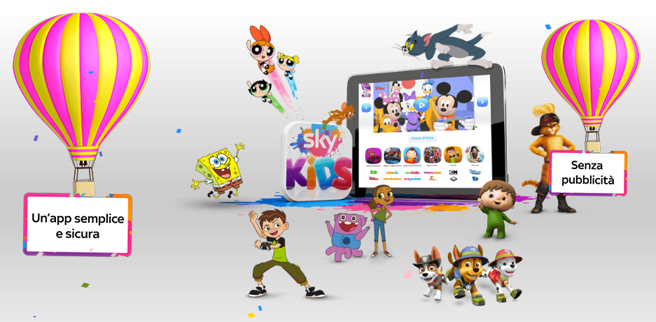 Sky Kids App Launches In Italy With Cartoon Network Shows