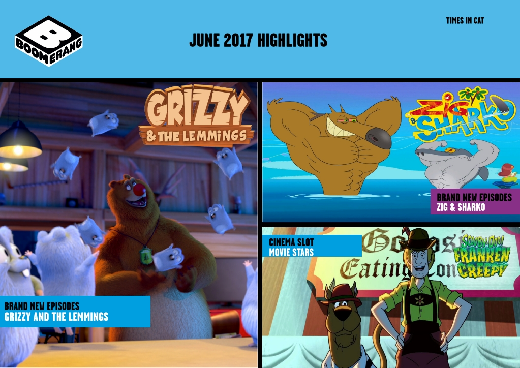 Cartoon Network Africa And Boomerang Africa June 2017 Highlights