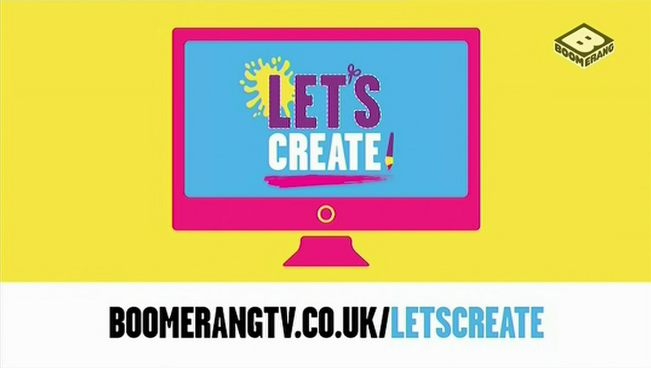 Boomerang UK New Let's Create Website Section