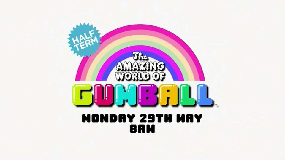 Cartoon Network UK The Amazing World Of Gumball Half Term Week