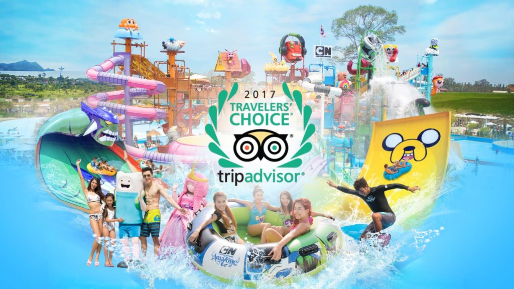 Cartoon Network Amazone Named As One Of The Top Ten Waterparks In Asia By TripAdvisor