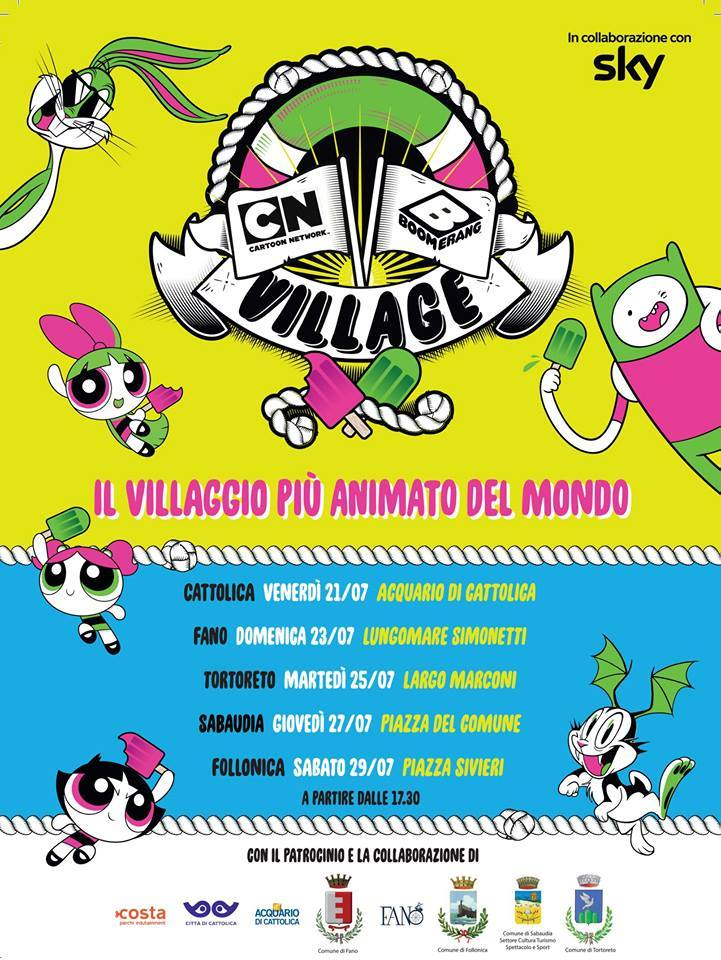 Cartoon Network And Boomerang Village Italy Beach Tour