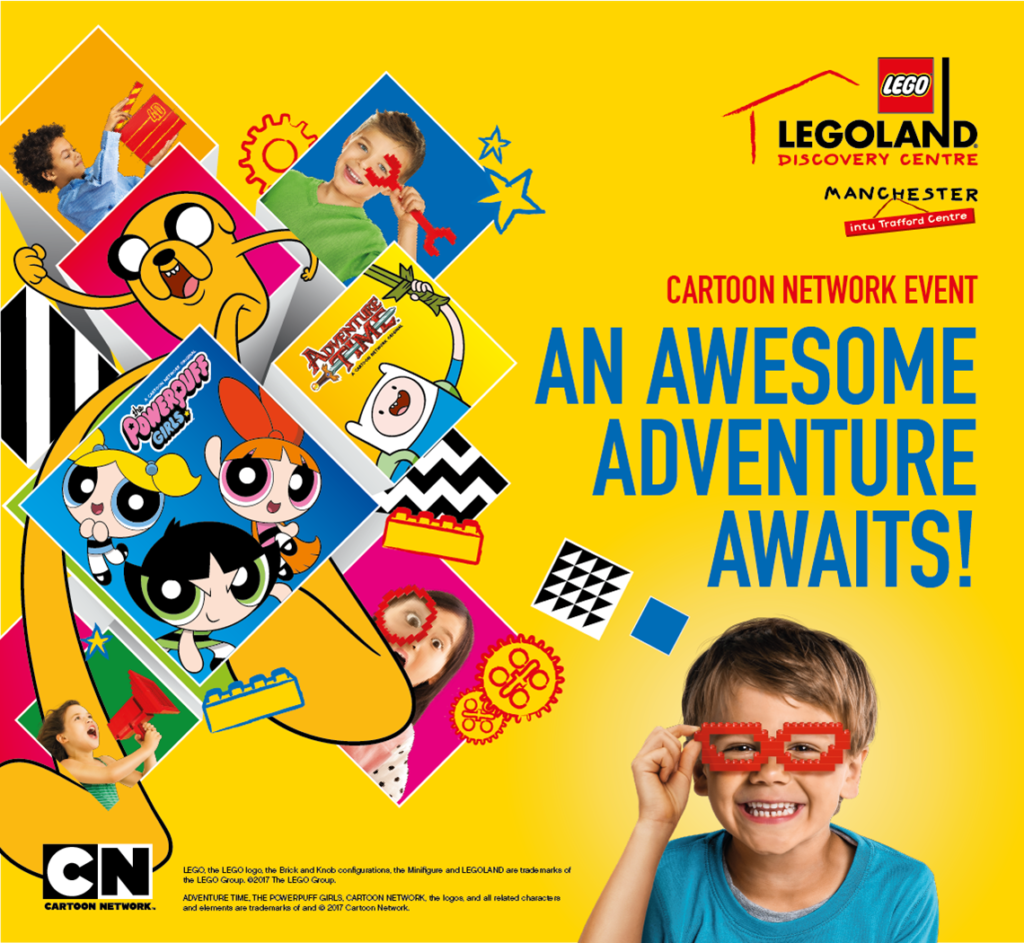 Cartoon Network Event At Legoland Discovery Centre Manchester UK 4th To 13th August