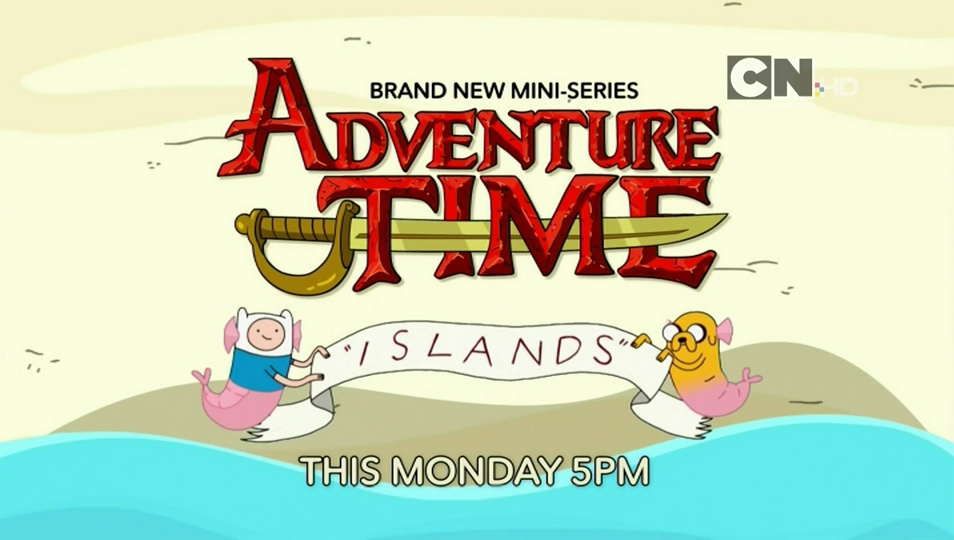 Cartoon Network UK Adventure Time Islands Miniseries Starts Monday 17th July