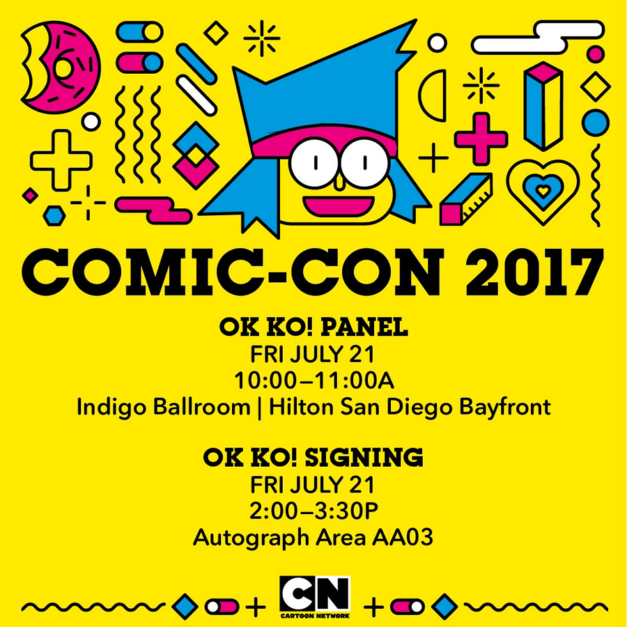 Cartoon Network USA San Diego Comic Con 2017 Friday 21st July Overview