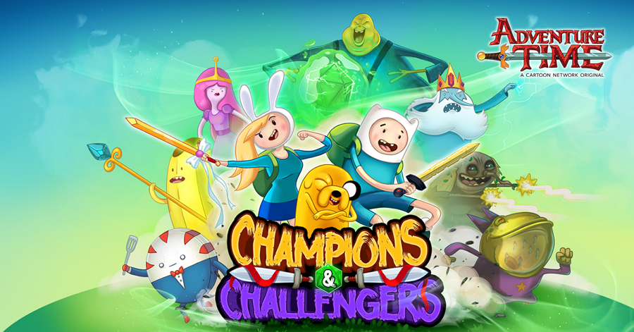 New Mobile Game Adventure Time Champions And Challengers Available To Download Now