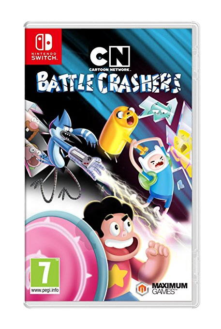 Cartoon Network Battle Crashers Nintendo Switch Release 14th November