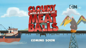 Cartoon Network UK Cloudy With A Chance Of Meatballs