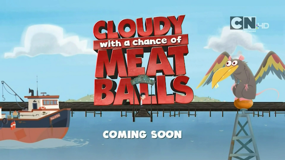 Cartoon Network UK Cloudy With A Chance Of Meatballs The Series Coming Soon