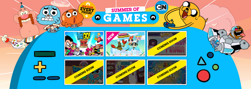 Cartoon Network UK Summer Of Games