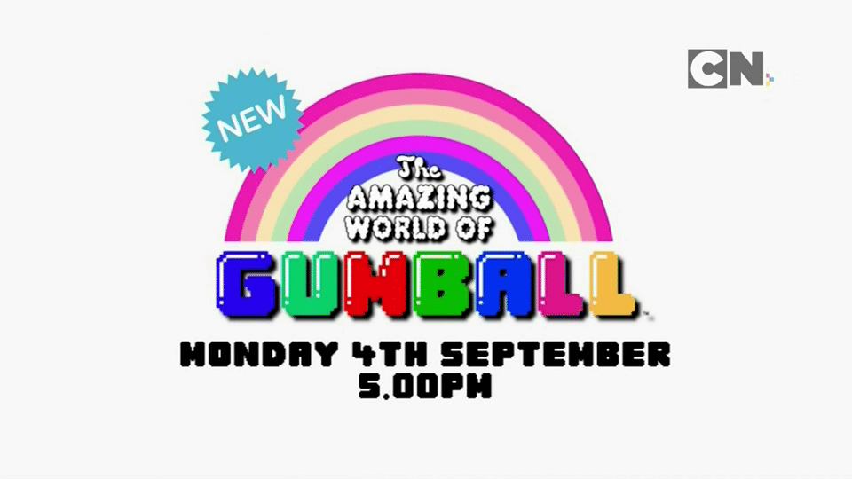 Cartoon Network UK The Amazing World Of Gumball New Episodes From 4th September