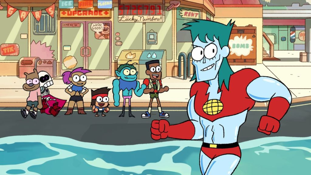 Cartoon Network USA Captain Planet To Make Special Appearance In New Episode Of OK K.O.! Let's Be Heroes 9th Octoberr