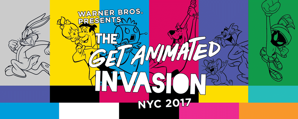 Warner Bros. Get Animated Invasion Pop-Up Store Opens 6th October