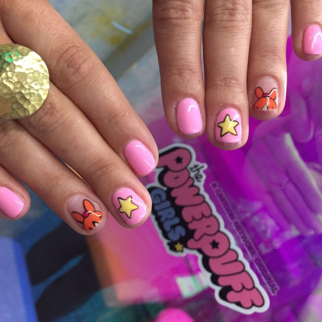Cartoon Network UK Teams Up With WAH Nails Salon In London For Powerpuff Girls Themed Nails