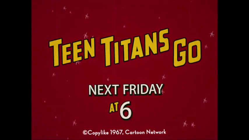 Cartoon Network USA Teen Titans Go! Classic Titans New Episode Airs Friday 15th September
