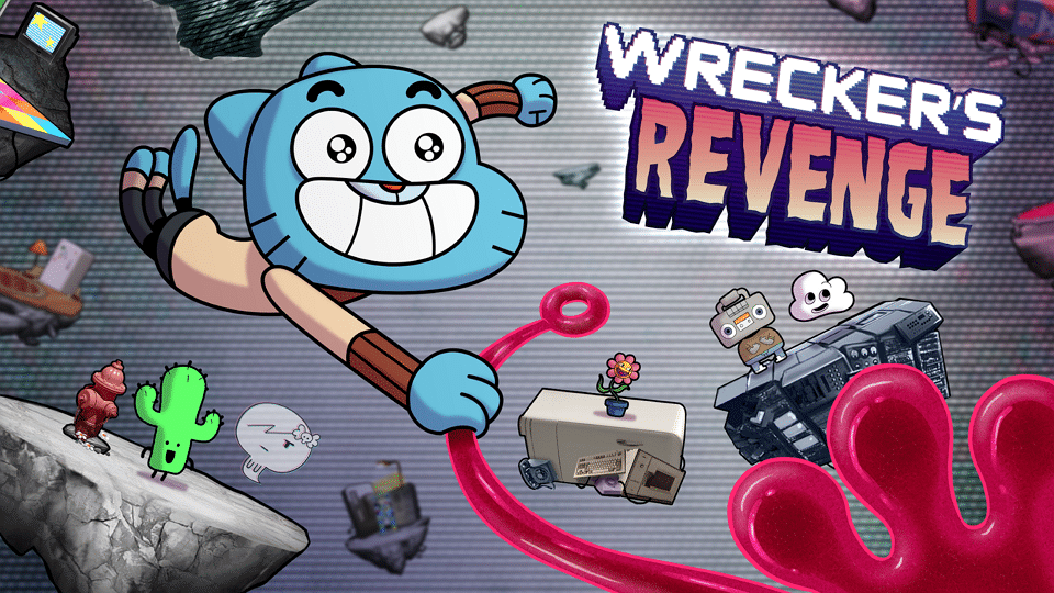 New Mobile Game The Amazing World Of Gumball Wrecker's Revenge