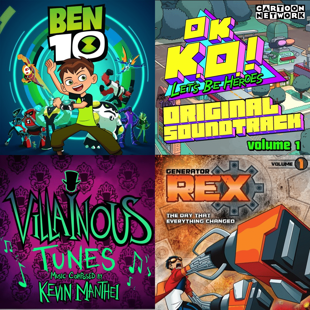 Ben 10, OK K.O.! Let's Be Heroes, Villainous And Generator Rex Music Now On SoundCloud