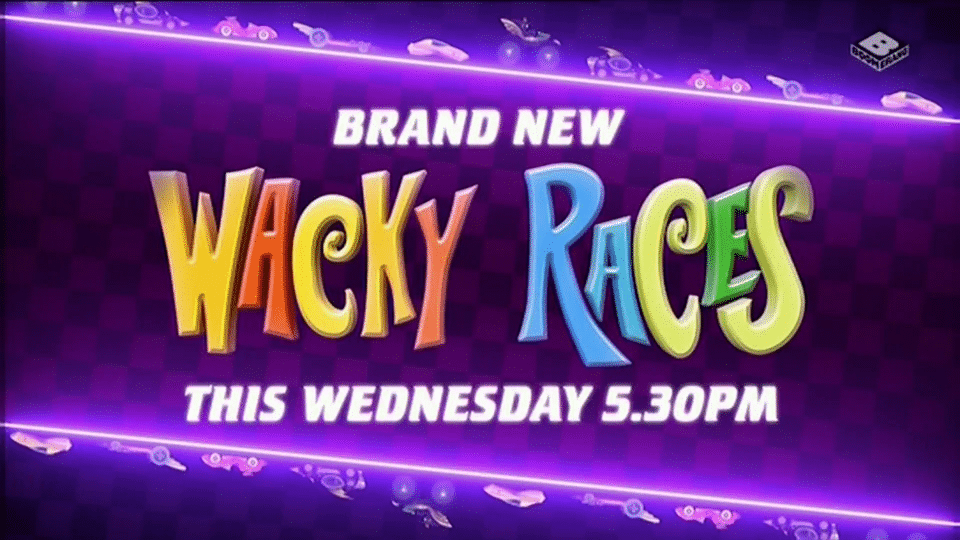 Boomerang UK Wacky Races New Show Premieres 1st November