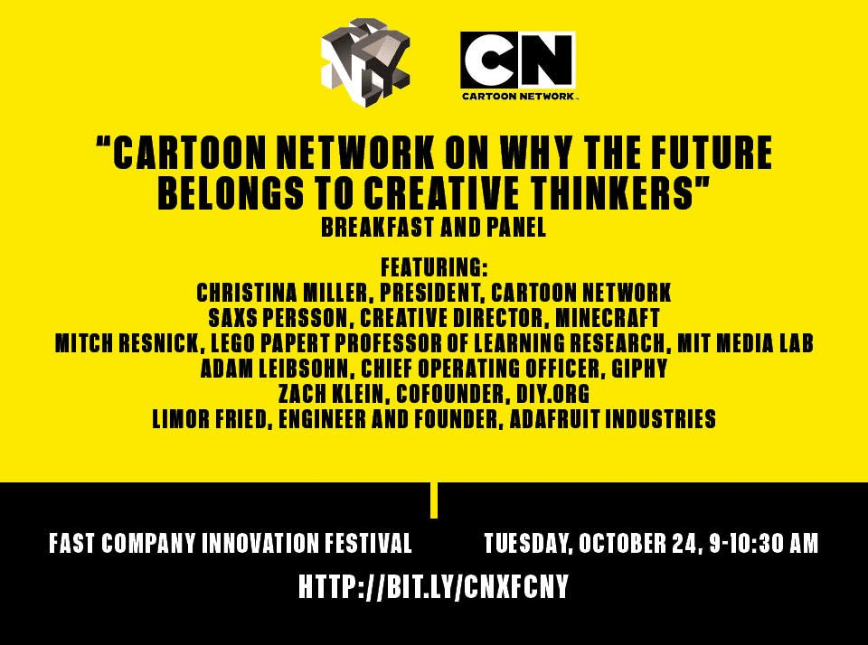 Cartoon Network Panel At Fast Company Innovation Festival 2017 In New York