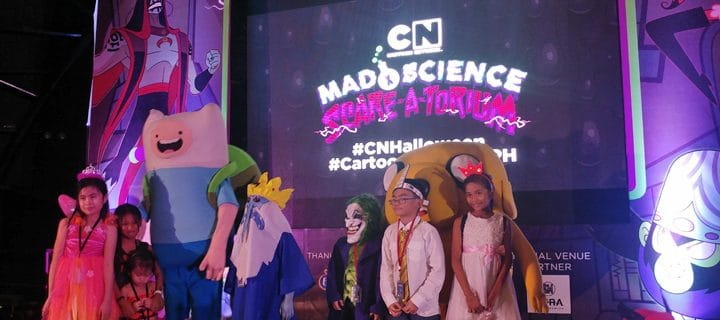 Cartoon Network's Mad Science Scare-A-Torium Event In Manila 29th October