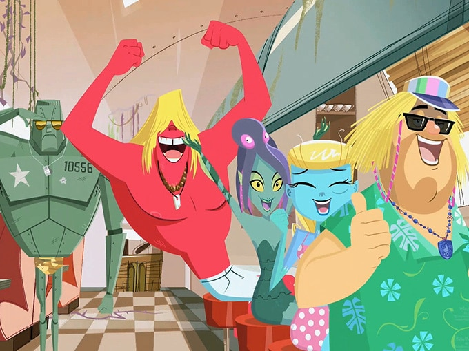 Cartoon Network Asia-Pacific Greenlights Monster Beach TV Series