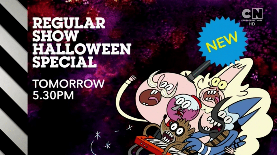 Regular Show Terror Tales Of The Park VI Halloween Special Premieres On Cartoon Network UK Tomorrow 29th October