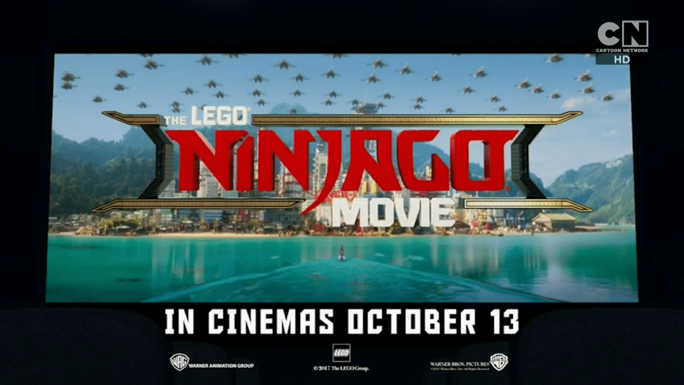 Cartoon Network UK The Lego Ninjago Movie Competition
