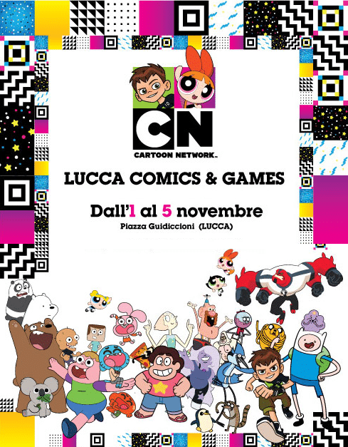 Cartoon Network At Lucca Comics And Games Festival 2017
