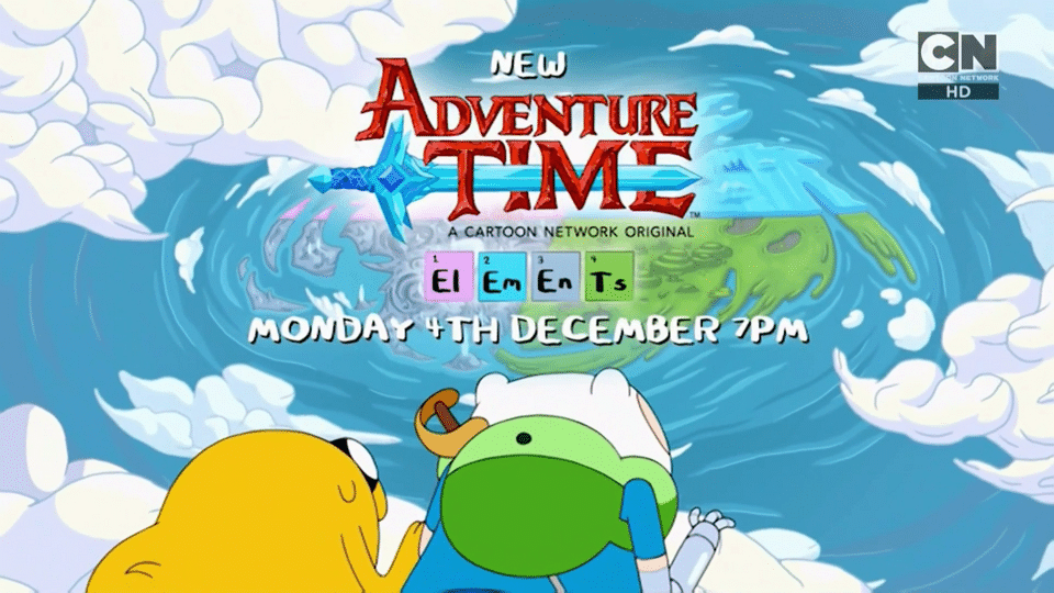 Adventure Time Elements Promo Now Airing On Cartoon Network UK