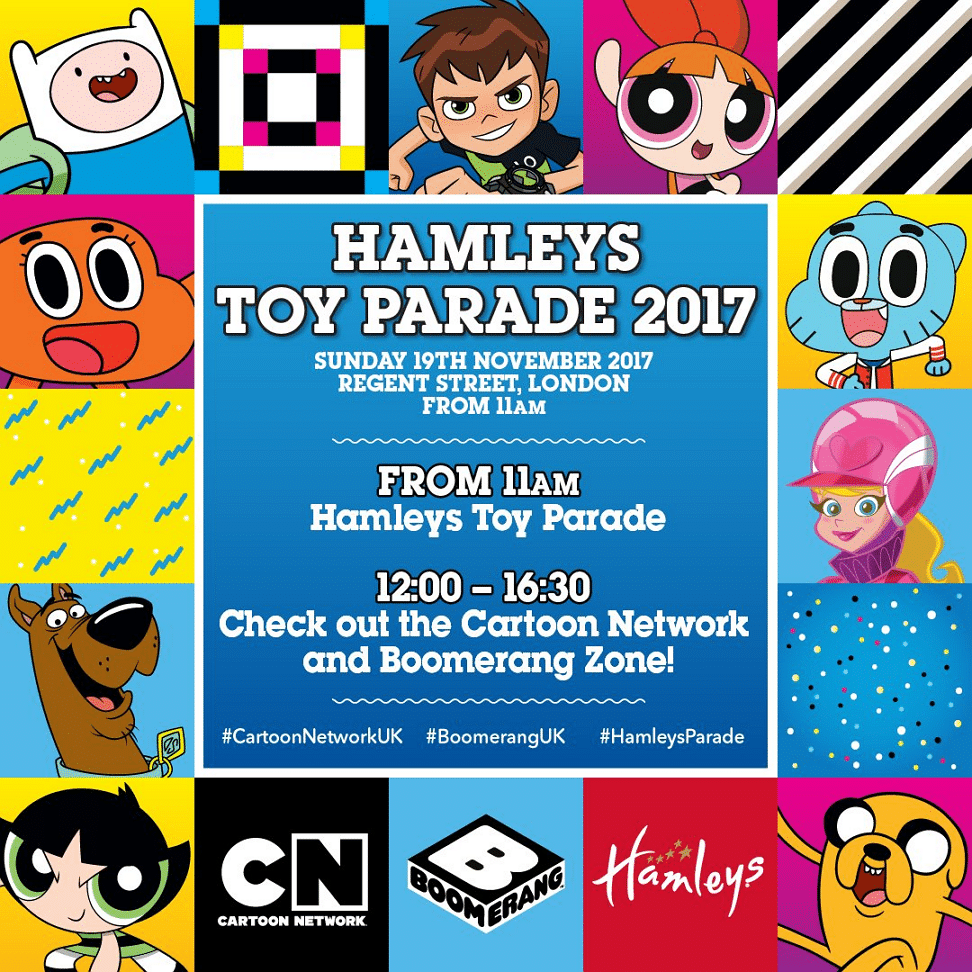 Cartoon Network At Hamleys Christmas Toy Parade London 19th November 2017